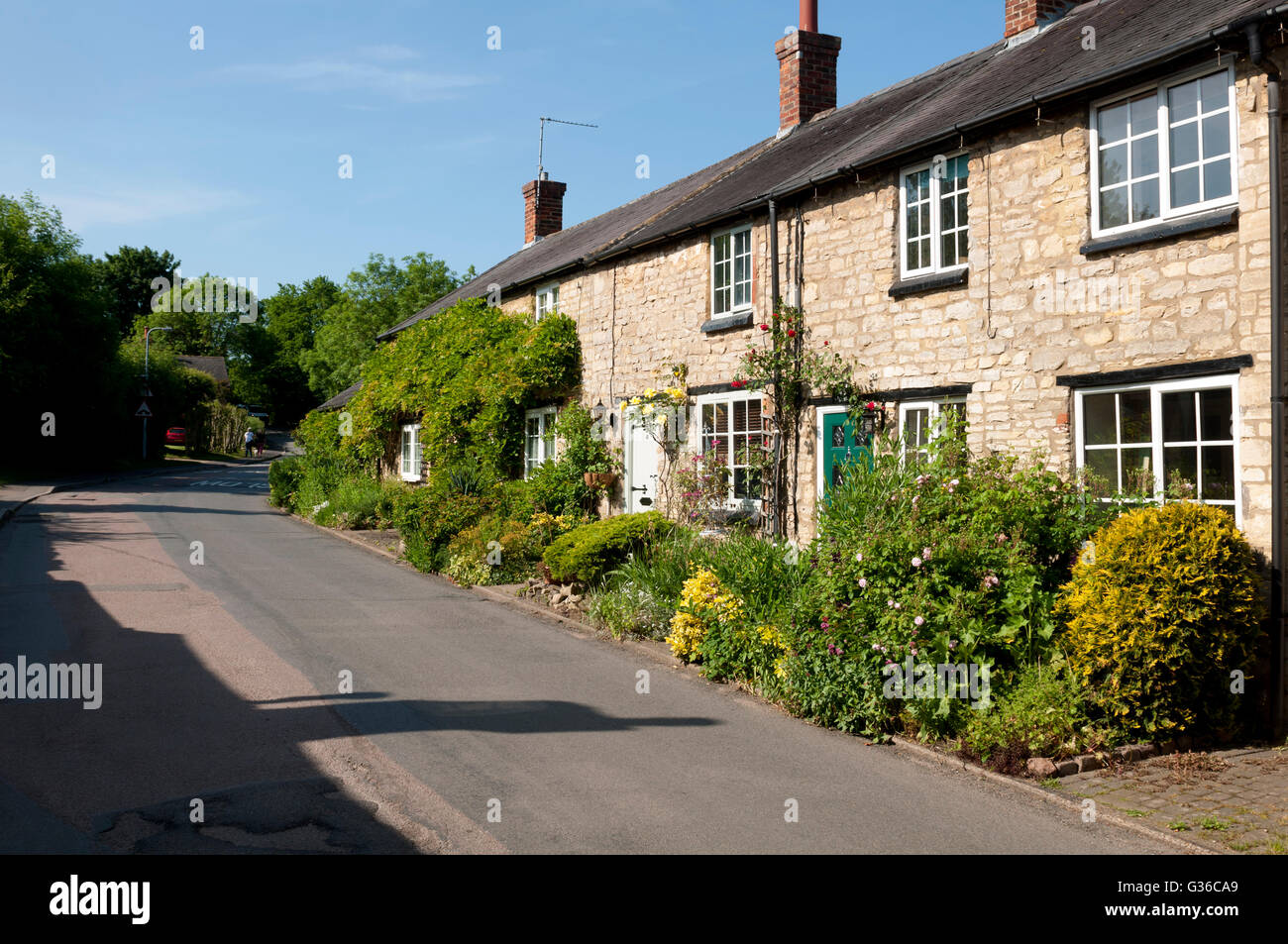Cosgrove village, Northamptonshire, England, UK - Stock Image