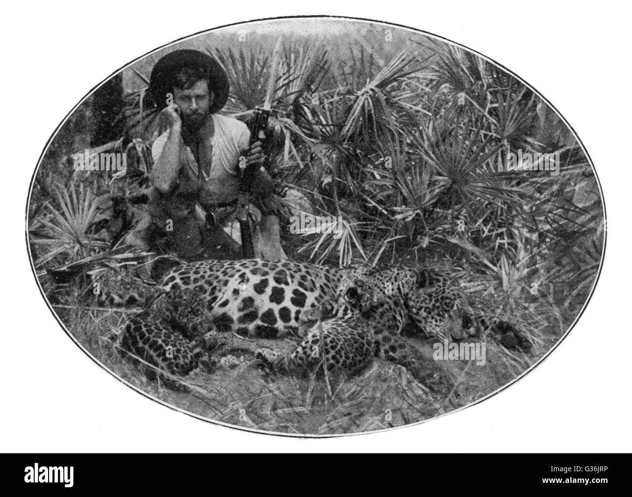 PERCY H FAWCETT   British explorer who disappeared while exploring  the Matto Grosso of Brazil. - Stock Image