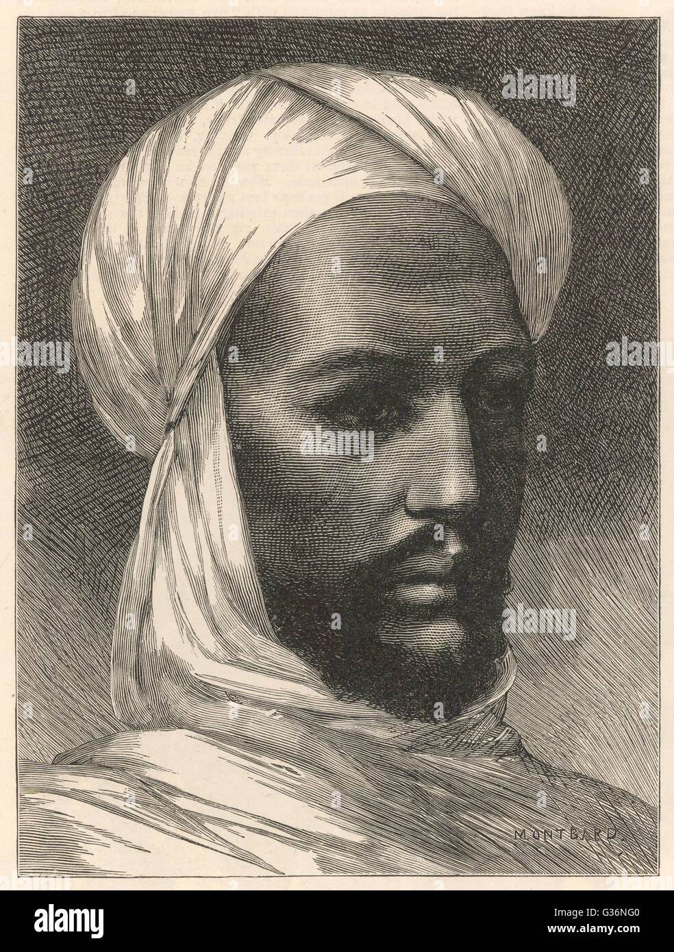 Mohammed Ahmed (Muhammad Ahmad bin Abd Allah)(1844-1885), known as The Mahdi (meaning the messianic redeemer of - Stock Image