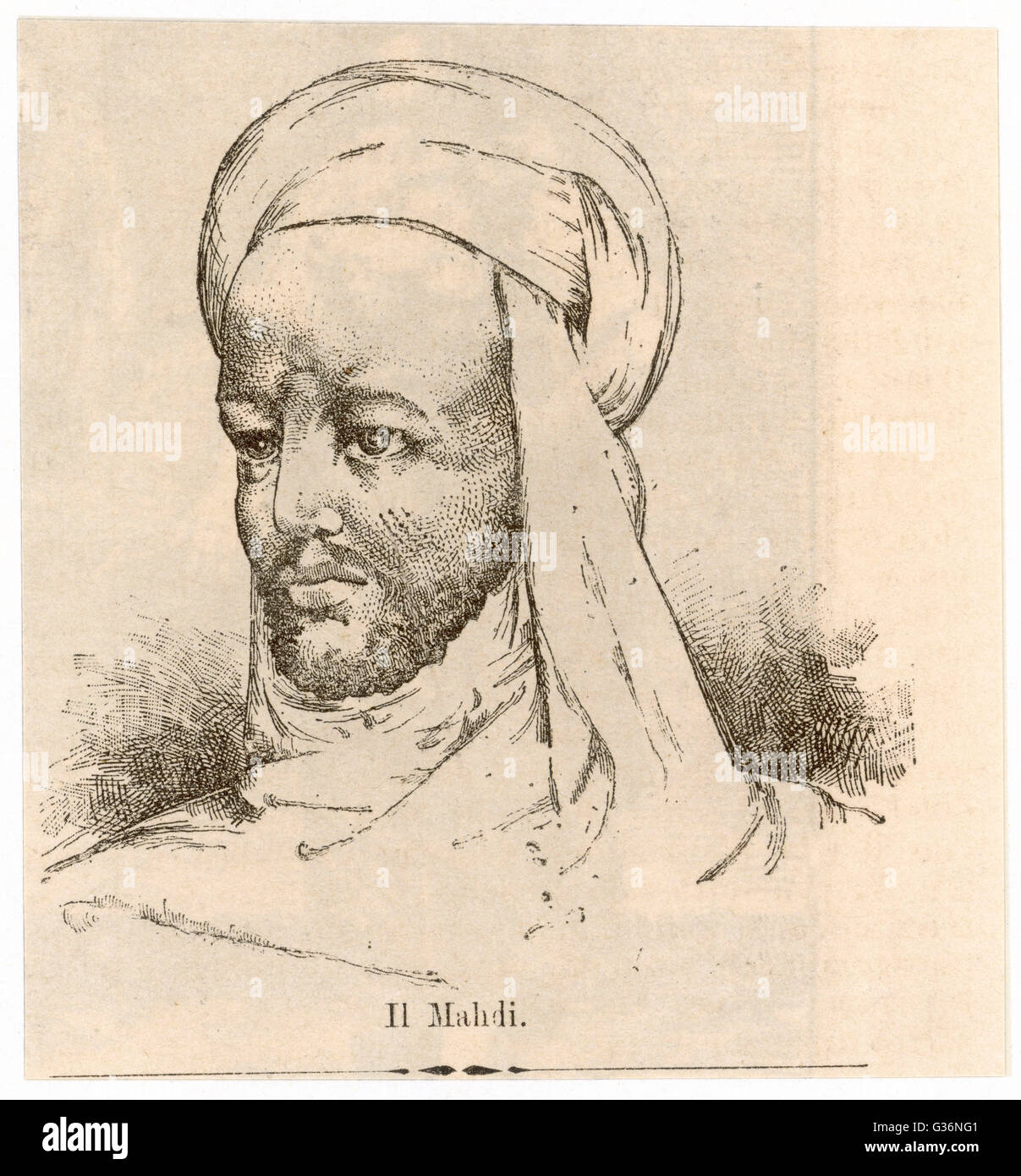 Mohammed Ahmed Muhammad Ahmad Bin Abd Allah 1844 1885 Known As The Mahdi Meaning Messianic Redeemer Of Islamic Faith A Sufi Sheikh
