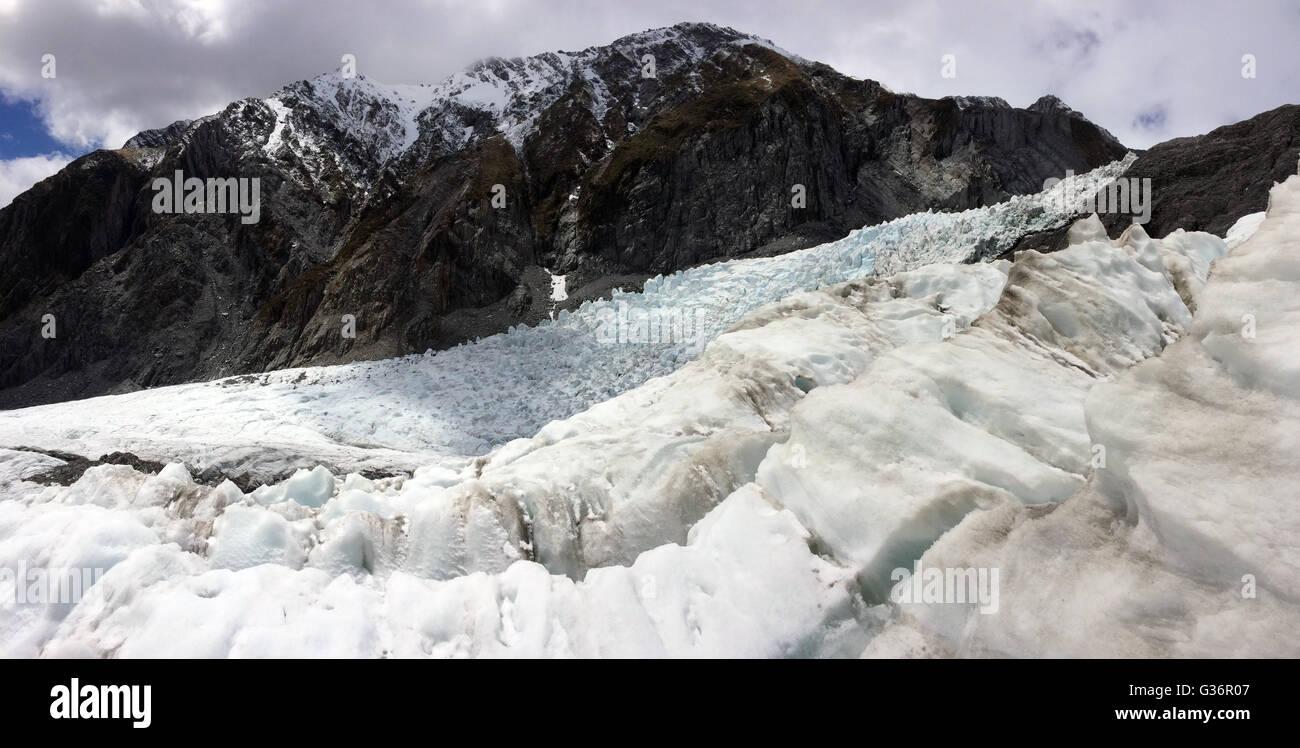 Franz Josef Glacier - Stock Image