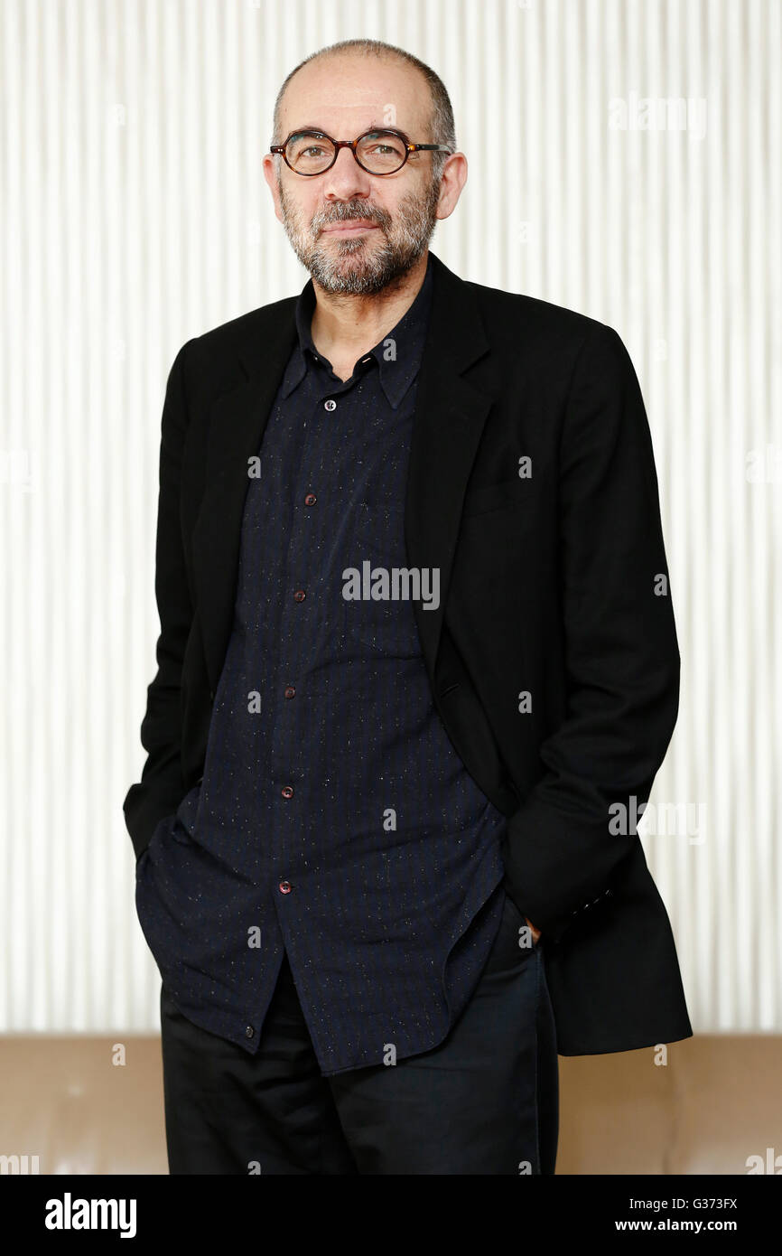 MILAN, ITALY, JANUARY 12: Director Giuseppe Tornatore attends the photo-call of  'La Corrispondenza' on - Stock Image