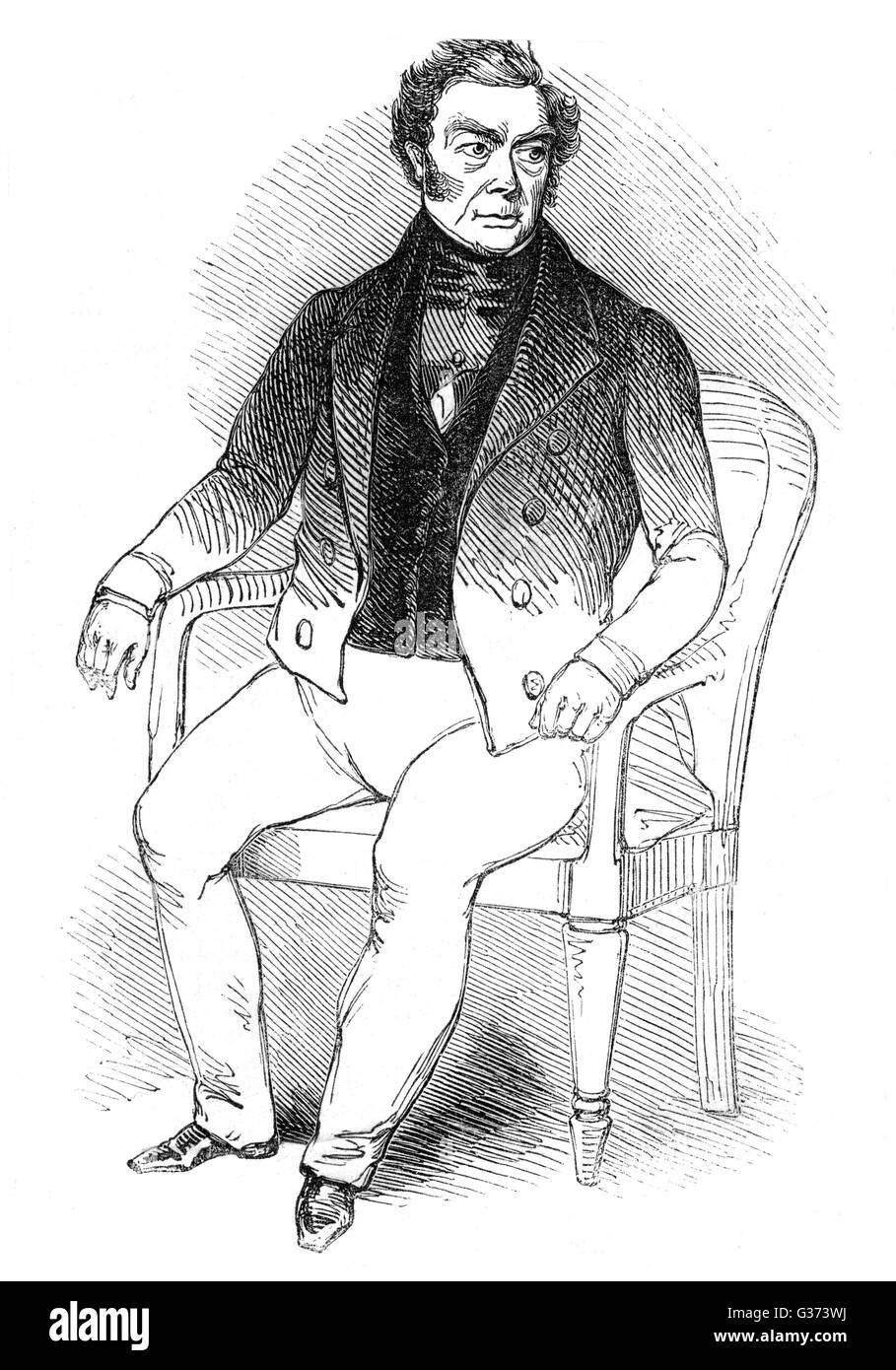 FRANCOIS-EUGENE VIDOCQ French criminal who turned  policeman - but maybe not  completely...       Date: 1775 - 1857 - Stock Image