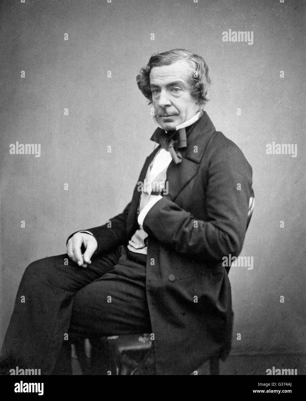 SAMUEL WARREN lawyer and writer         Date: 1807 - 1877 Stock Photo
