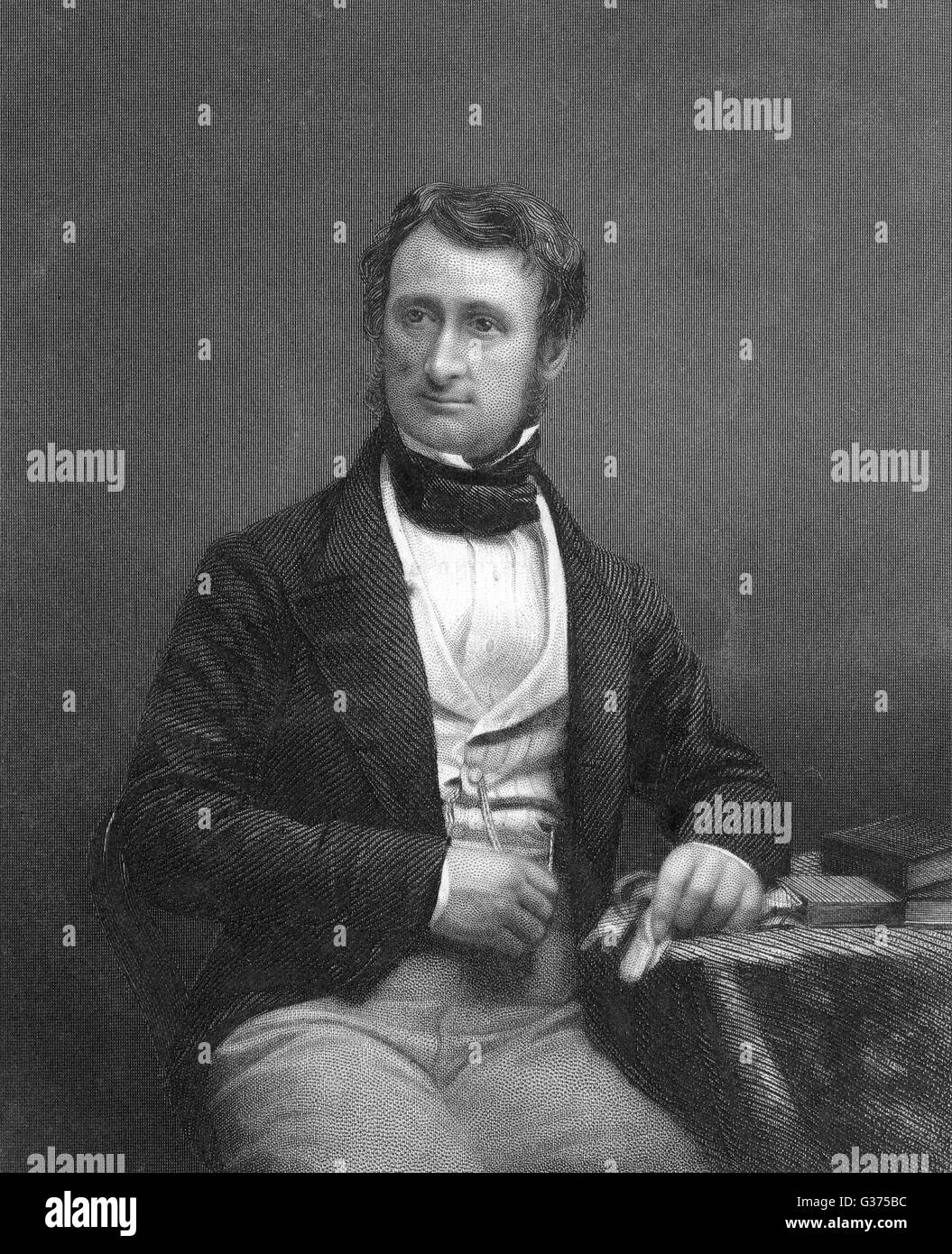 CHARLES ANDERSON PELHAM,  second earl of YARBOROUGH         Date: 1809 - 1862 - Stock Image