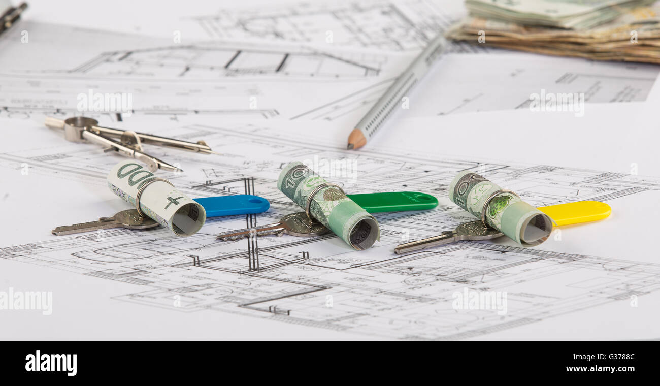 House Plans Electrical Stock Photos & House Plans Electrical Stock ...