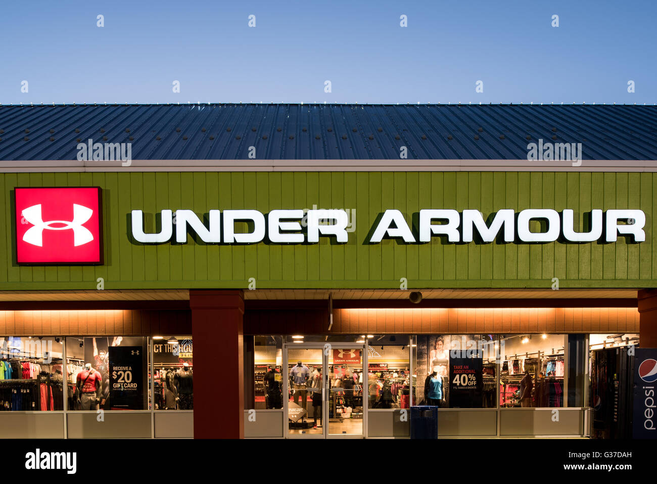 under armour outlet mall