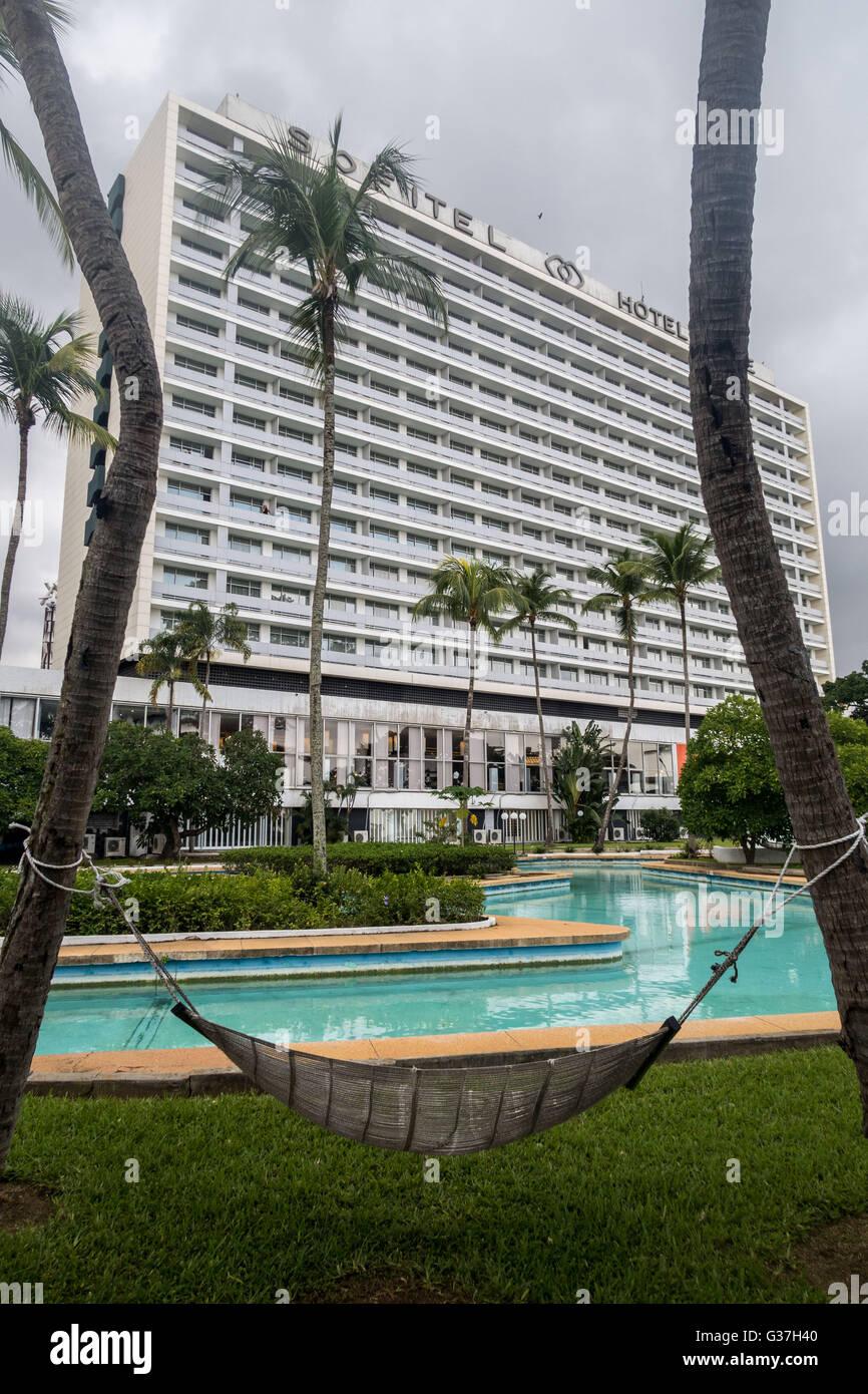 Sofitel Abidjan Hotel Ivoire, Côte d'Ivoire, West Africa - Stock Image