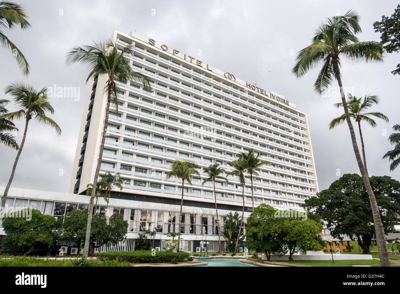 sofitel abidjan hotel ivoire c te d 39 ivoire west africa stock photo 105273292 alamy. Black Bedroom Furniture Sets. Home Design Ideas