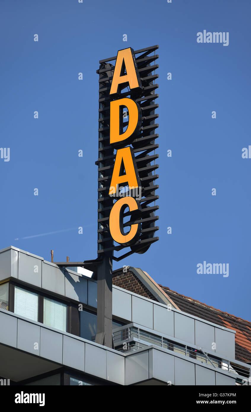 ADAC, Zentrale, Bundesallee, Wilmersdorf, Berlin, Deutschland - Stock Image
