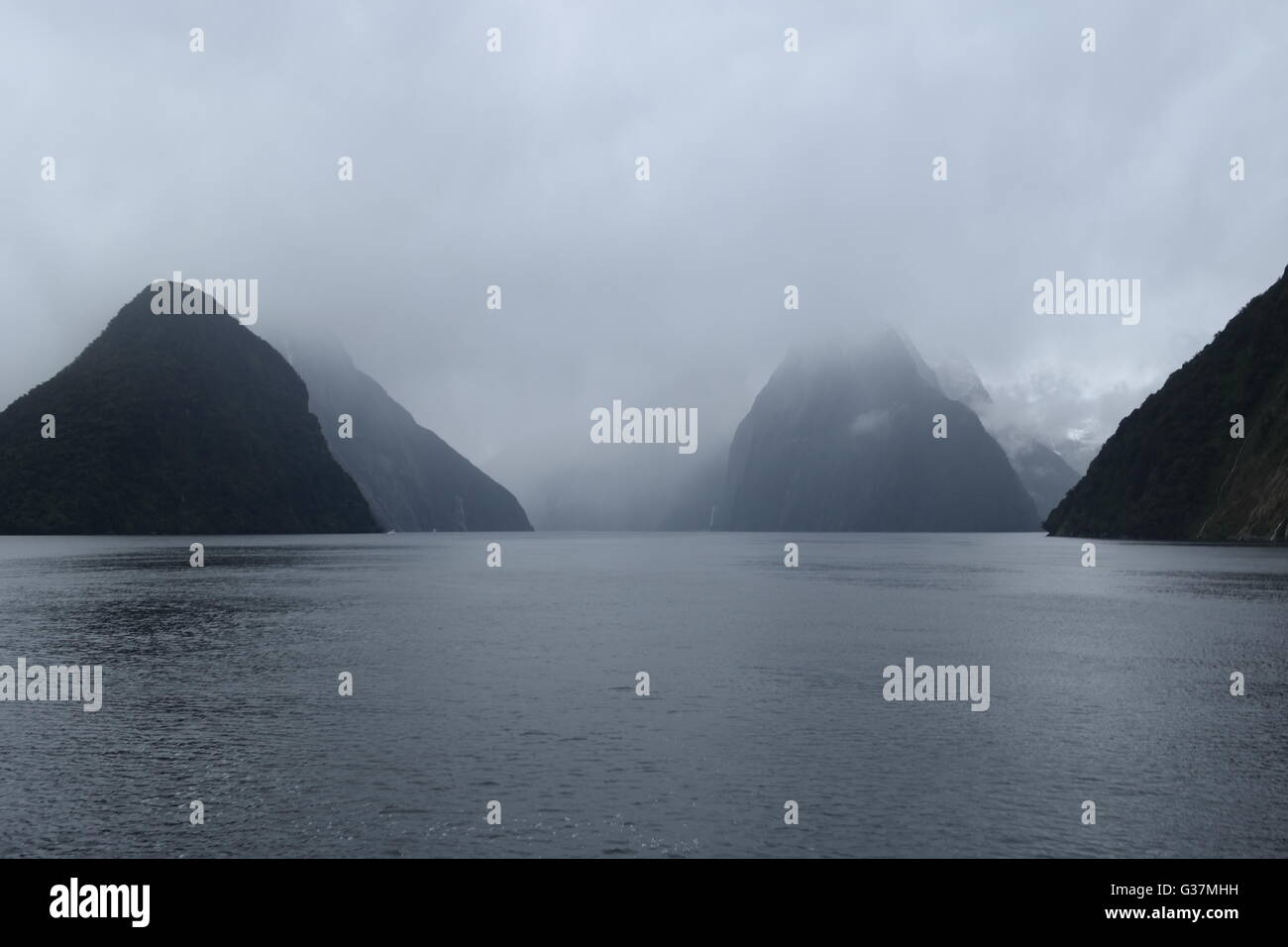 Milford Sound - Stock Image