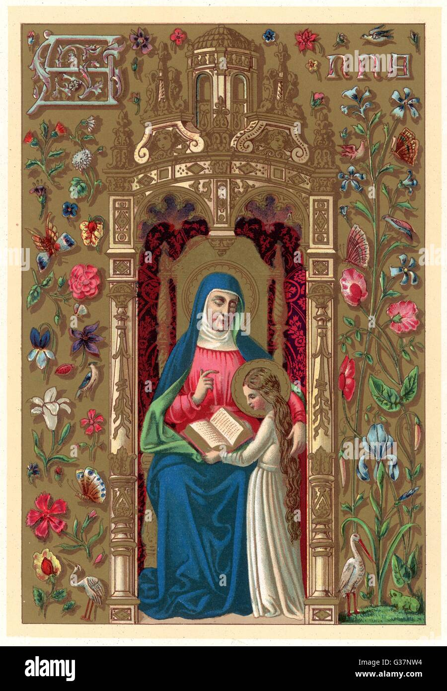 Saint Anne - Stock Image