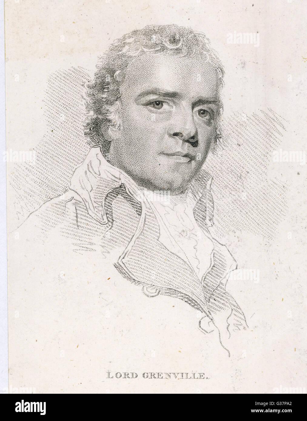 William Grenville, 1st Baron Grenville