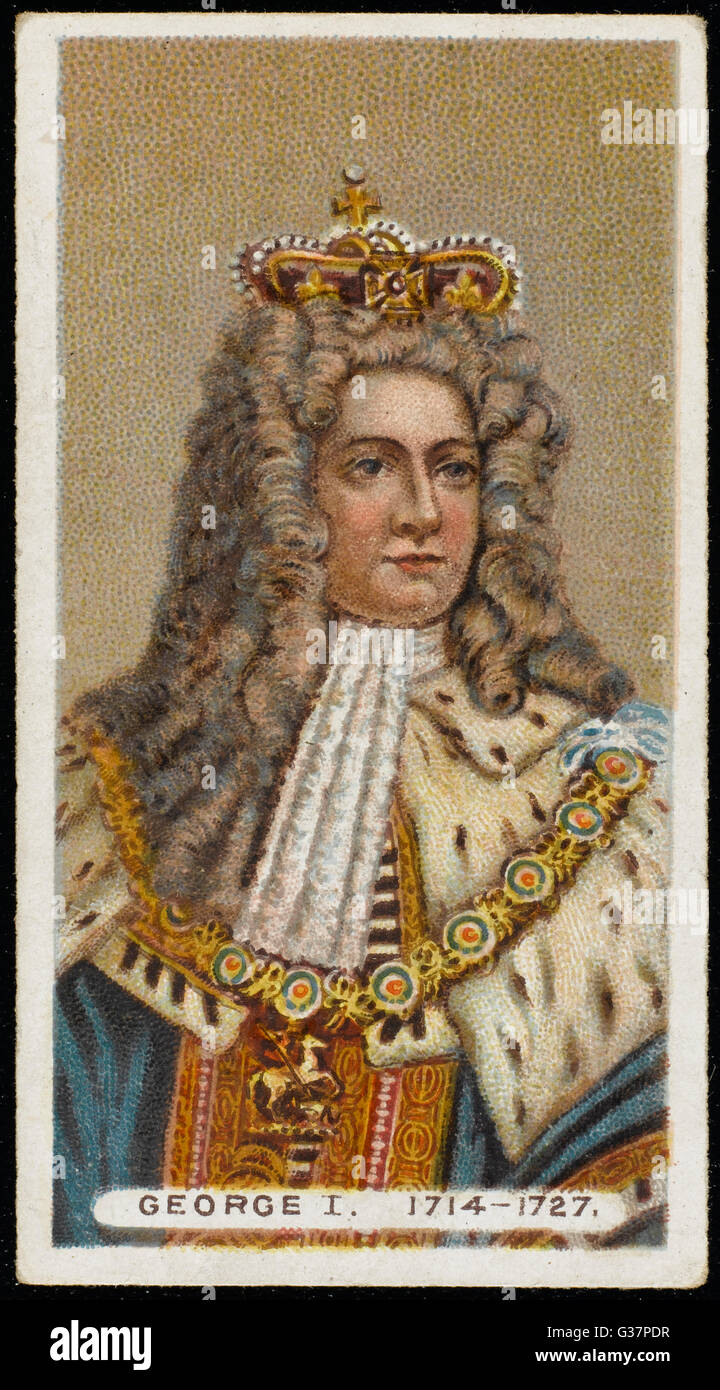 GEORGE I KING OF ENGLAND         Date: 1660 - 1727 - Stock Image