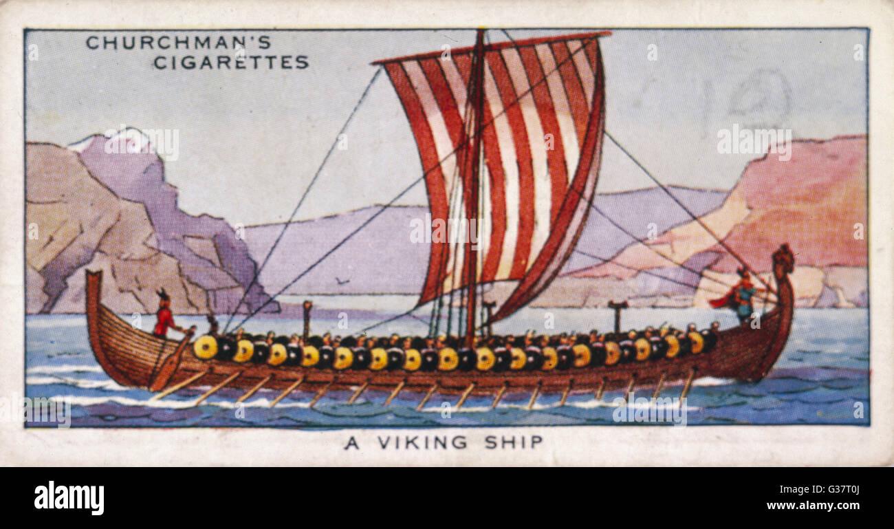 A Viking Ship Date 9th