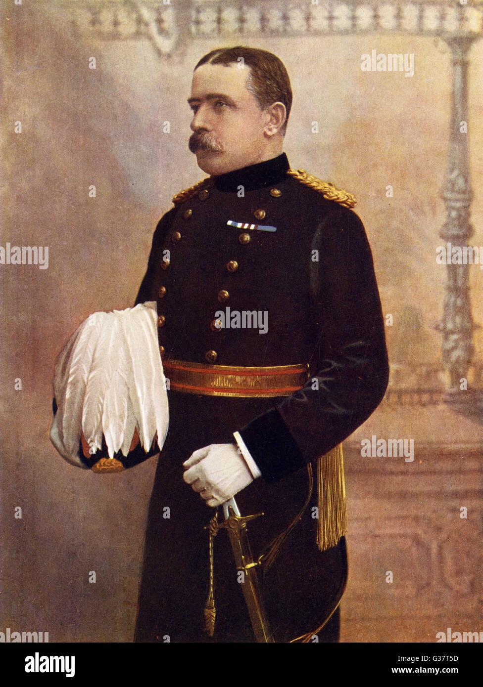 JOHN DENTON FRENCH -  British soldier.        Date: 1852 - 1925 - Stock Image