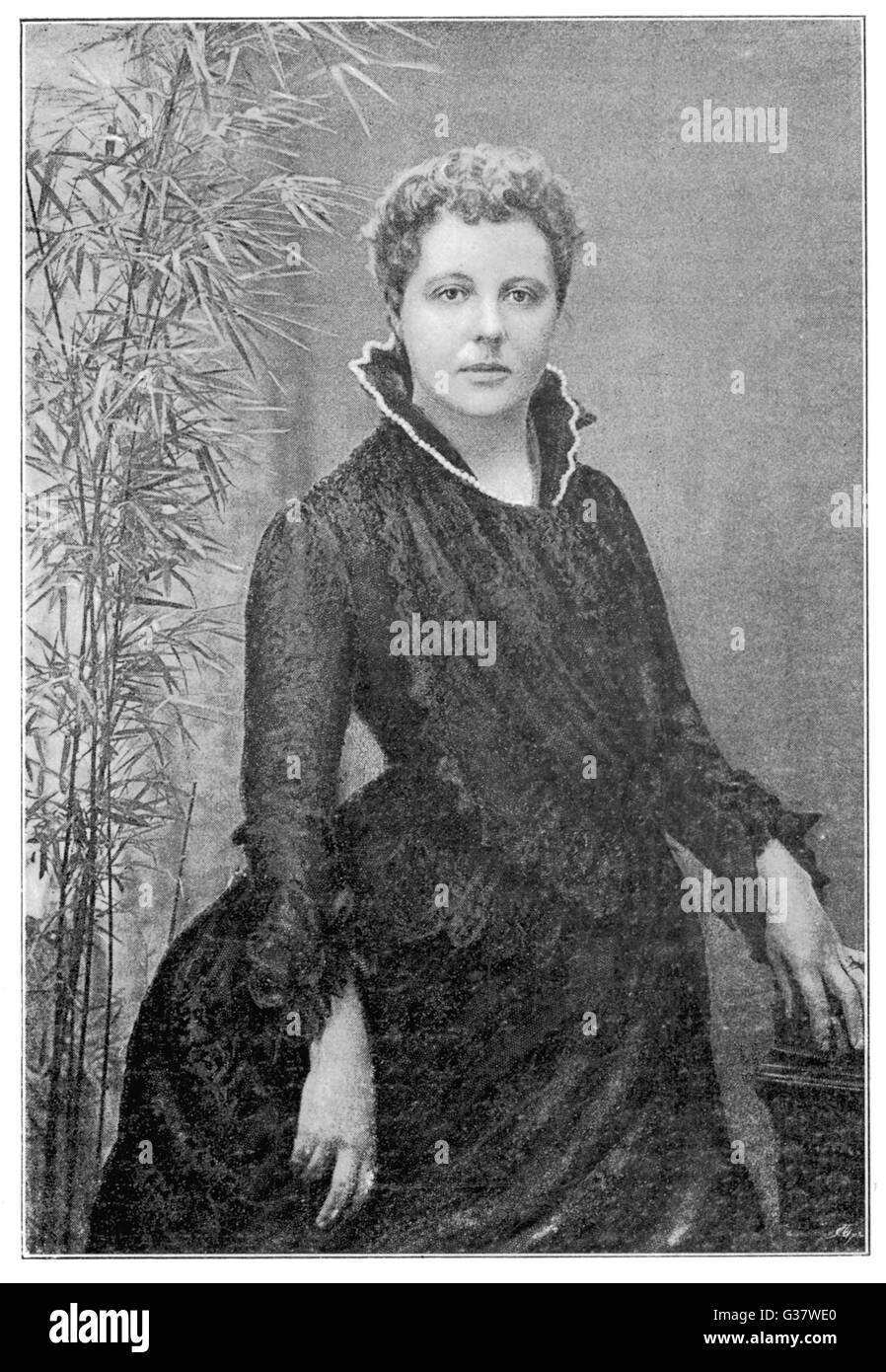 ANNIE BESANT  English theosophist (Irish heritage) and Indian  political leader       Date: 1847 - 1933 Stock Photo