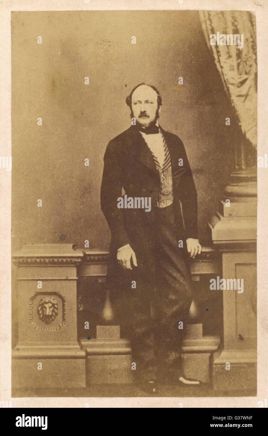 PRINCE ALBERT  Consort to Queen Victoria        Date: 1819-1861 - Stock Image