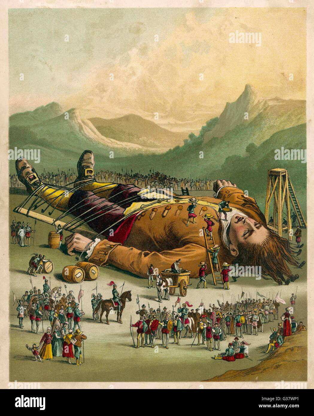 relationship between gulliver and lilliput