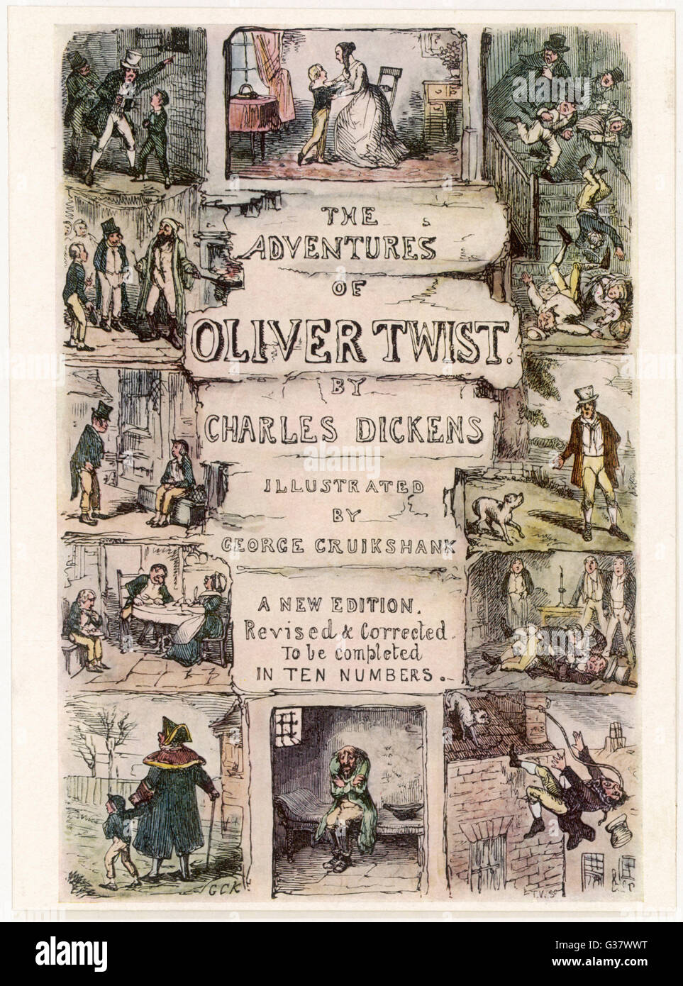 Title page          Date: First published: 1836-37 - Stock Image