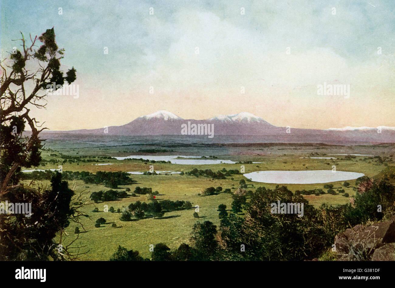Rocky Mountains,  Colorado        Date: 1923 - Stock Image