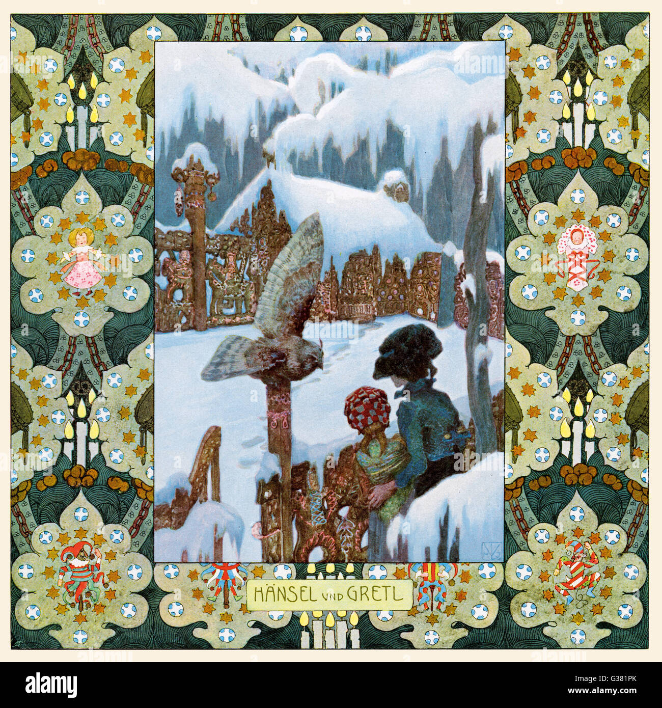 Fairytale - Hansel and Gretel - (Brothers Grimm) - Stock Image