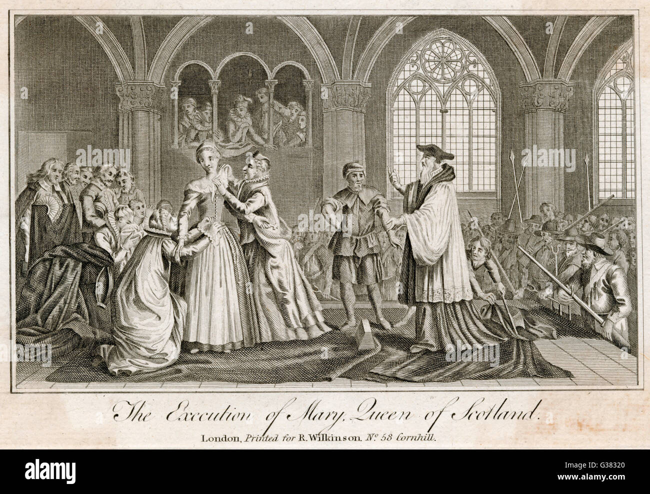 The execution of Mary Queen of Scots Date: 8 February 1587