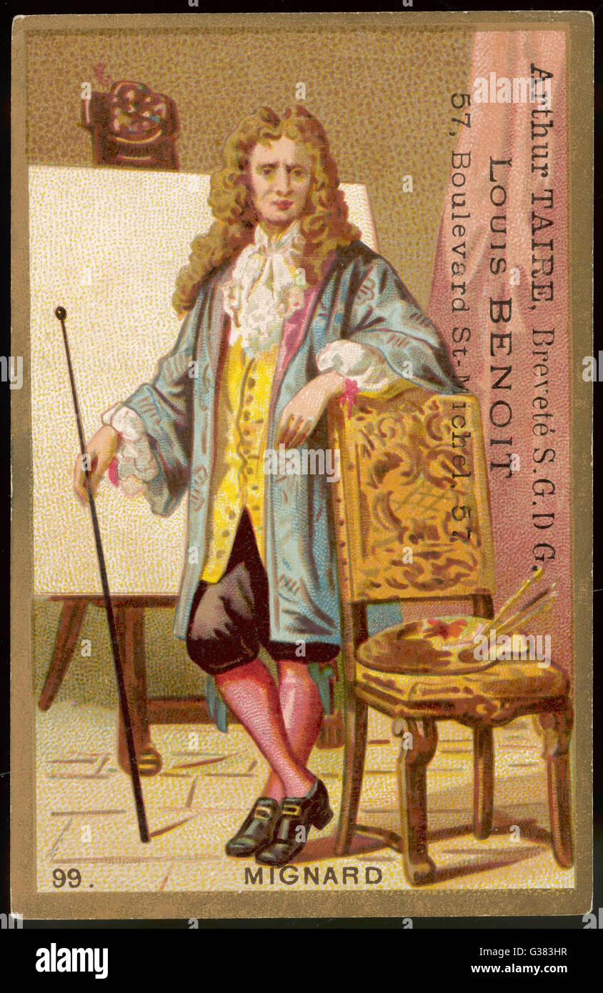 PIERRE MIGNARD  French artist        Date: 1610 - 1695 - Stock Image