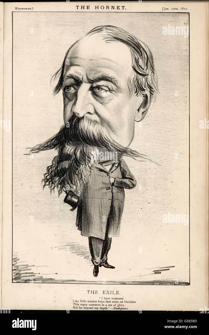 LOUIS NAPOLEON III  French royalty in exile        Date: 1808 - 1873 - Stock Image