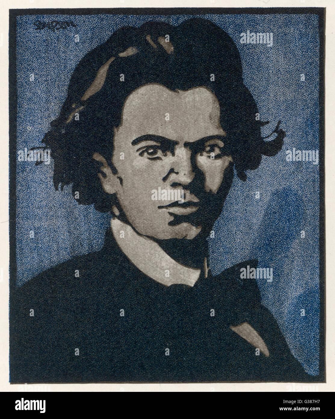 JAN KUBELIK  Czech musician        Date: 1880 - 1940 - Stock Image