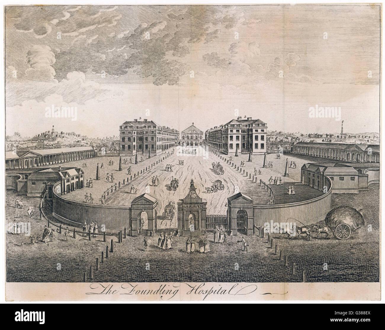 Something London foundling hospital that