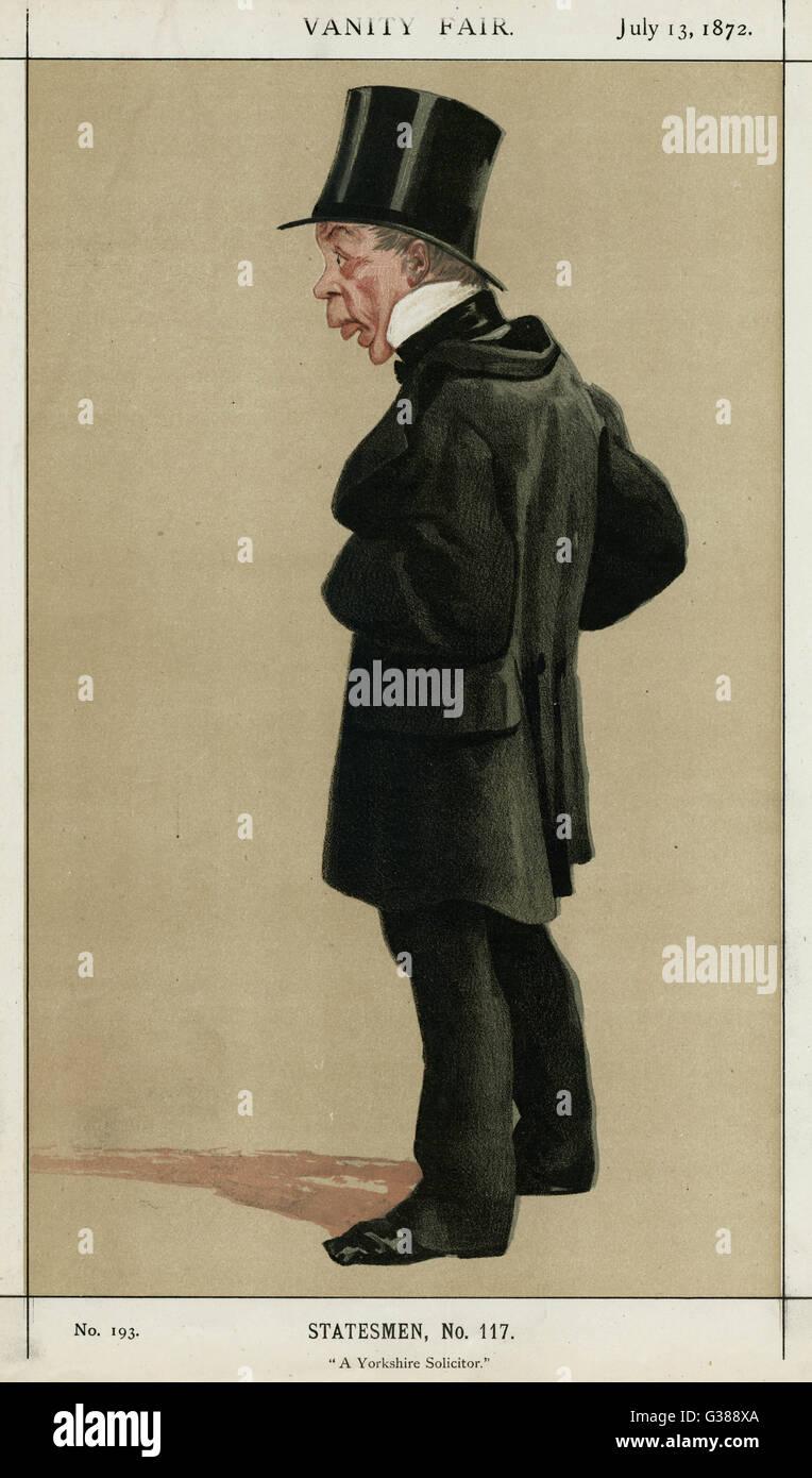 GEORGE LEEMAN  Statesman - Stock Image