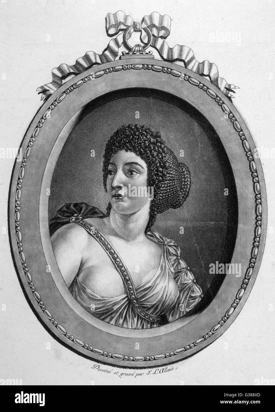 MESSALINA, EMPRESS wife of Emperor Claudius         Date: circa 25 - 48 - Stock Image
