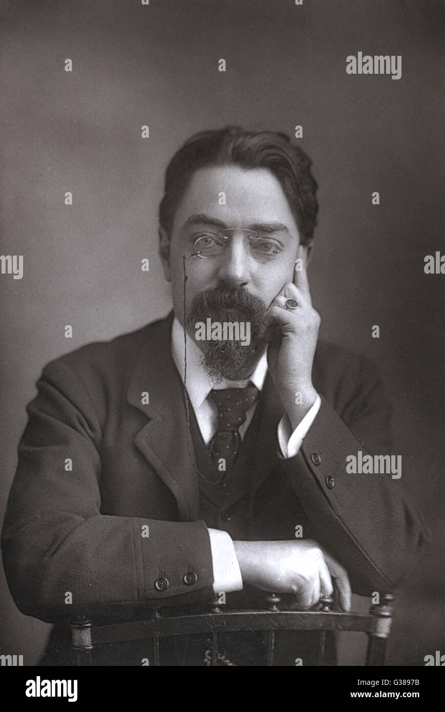 SIDNEY WEBB  economist and social theorist        Date: 1859-1947 - Stock Image