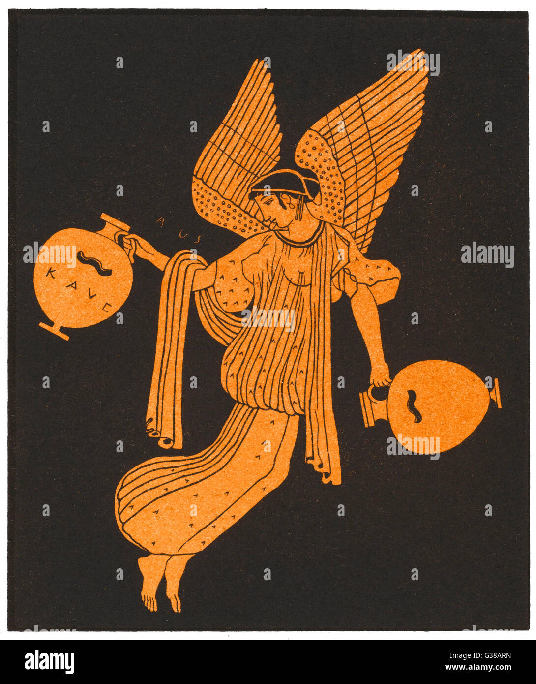 The Greek Goddess The Dawn Stock Photos The Greek Goddess The Dawn
