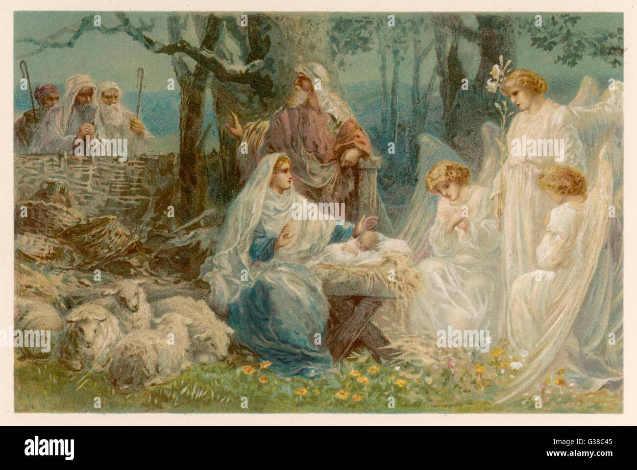Baby Jesus Angels Stock Photos Amp Baby Jesus Angels Stock