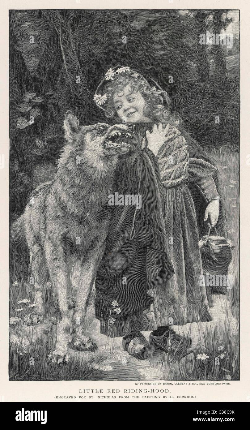 Little Red Riding Hood Wolf Stock Photos Little Red Riding Hood