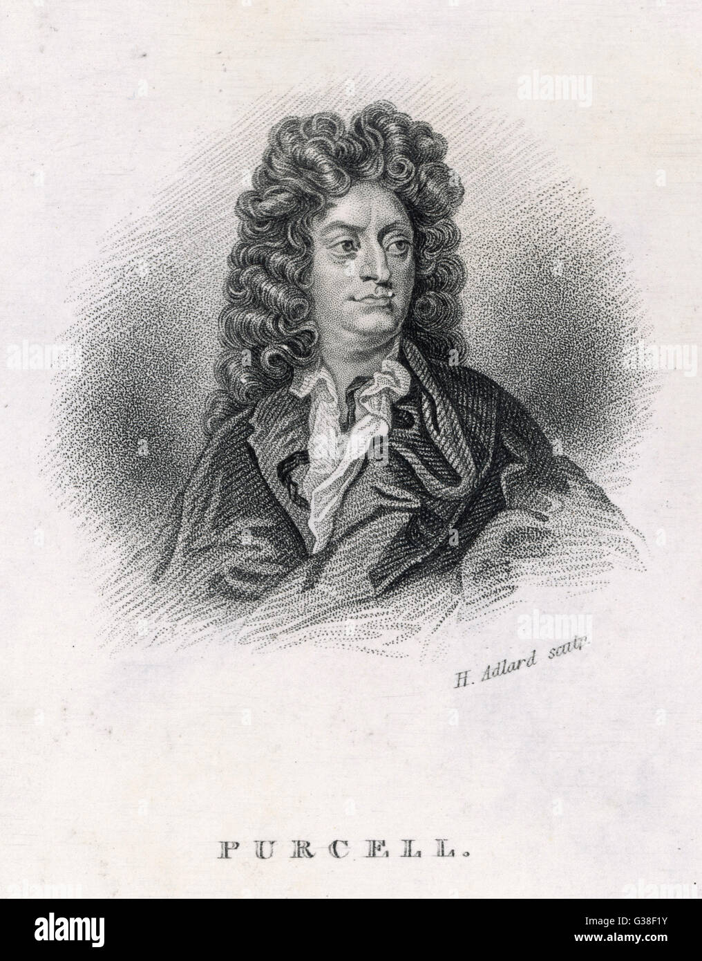 HENRY PURCELL  the English composer        Date: 1659 - 1695 - Stock Image