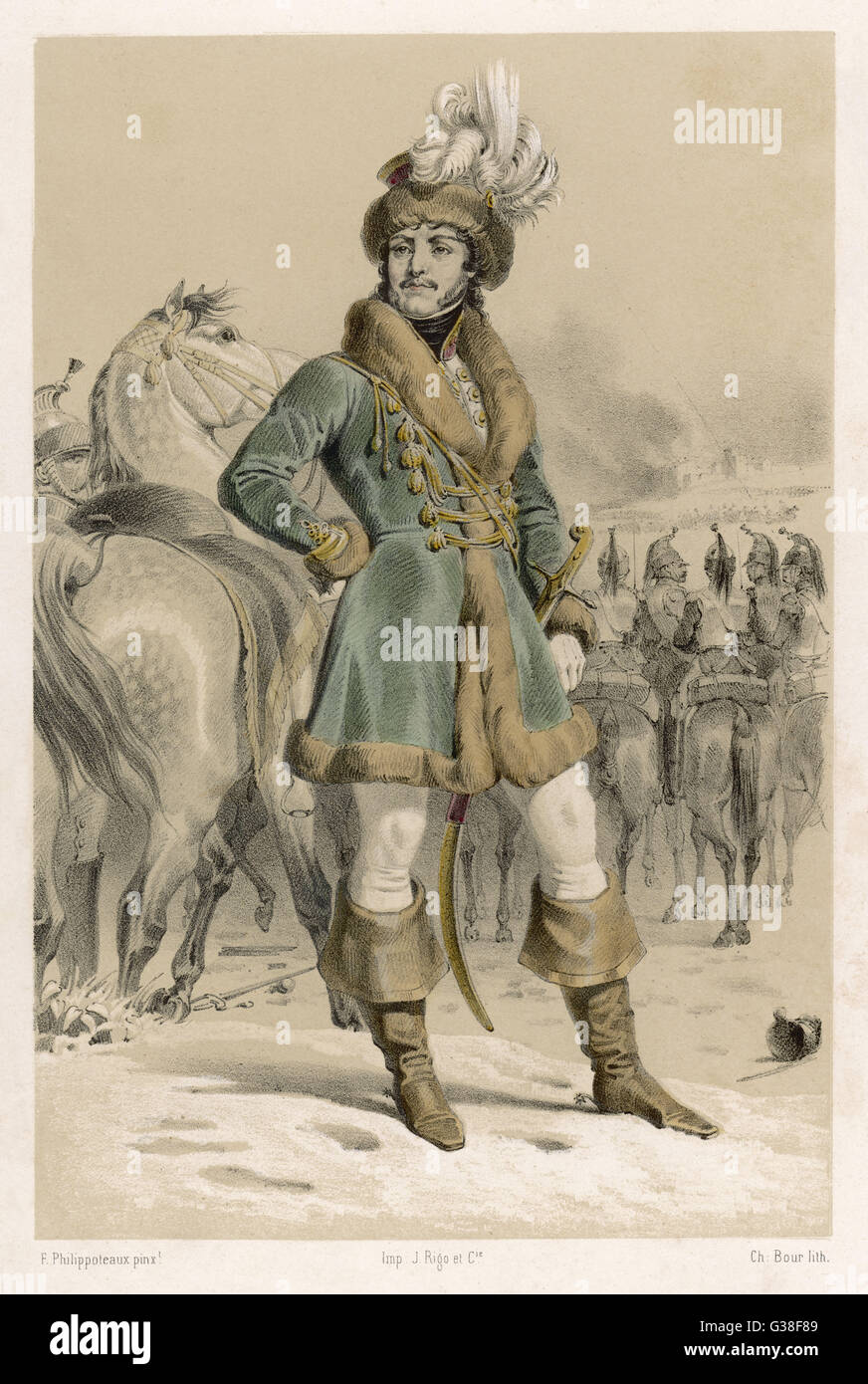 JOACHIM MURAT  French soldier, prince, king of Naples       Date: 1767 - 1815 - Stock Image