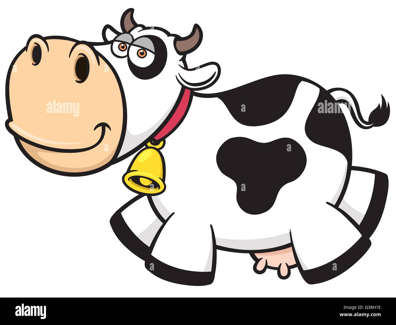 Cartoon Cow Stock Photos & Cartoon Cow Stock Images