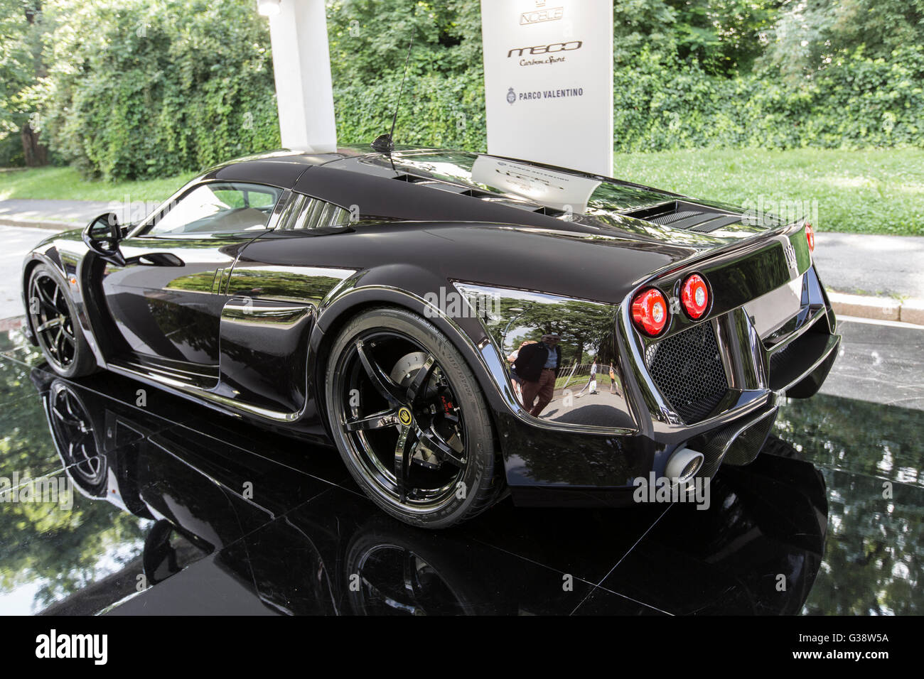 Turin, Italy. 09th June, 2016. Turin car show,from 8th to 12 th June 2016.Noble M600 Credit:  RENATO VALTERZA/Alamy - Stock Image