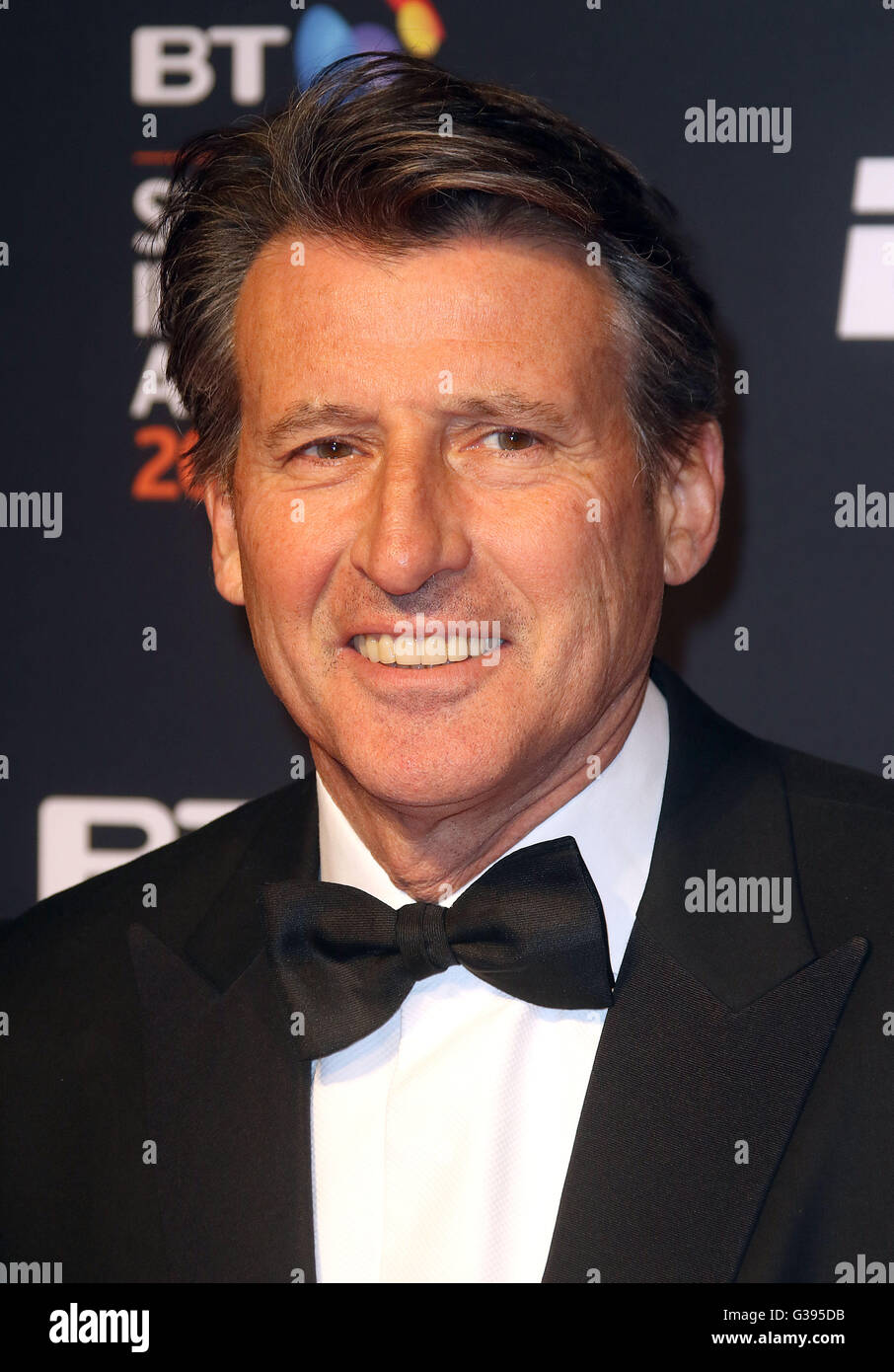 April 29, 2016 - Sebastian Coe attending BT Sport Awards at Battersea Evolution in London, UK. - Stock Image