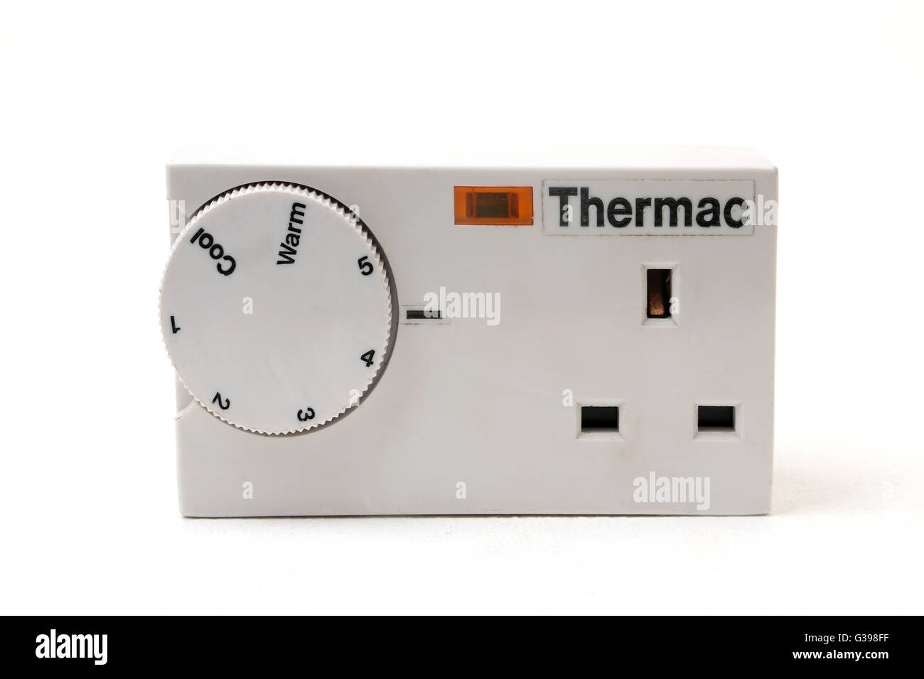 Thermac Plug In Timer For A Heater - Stock Image