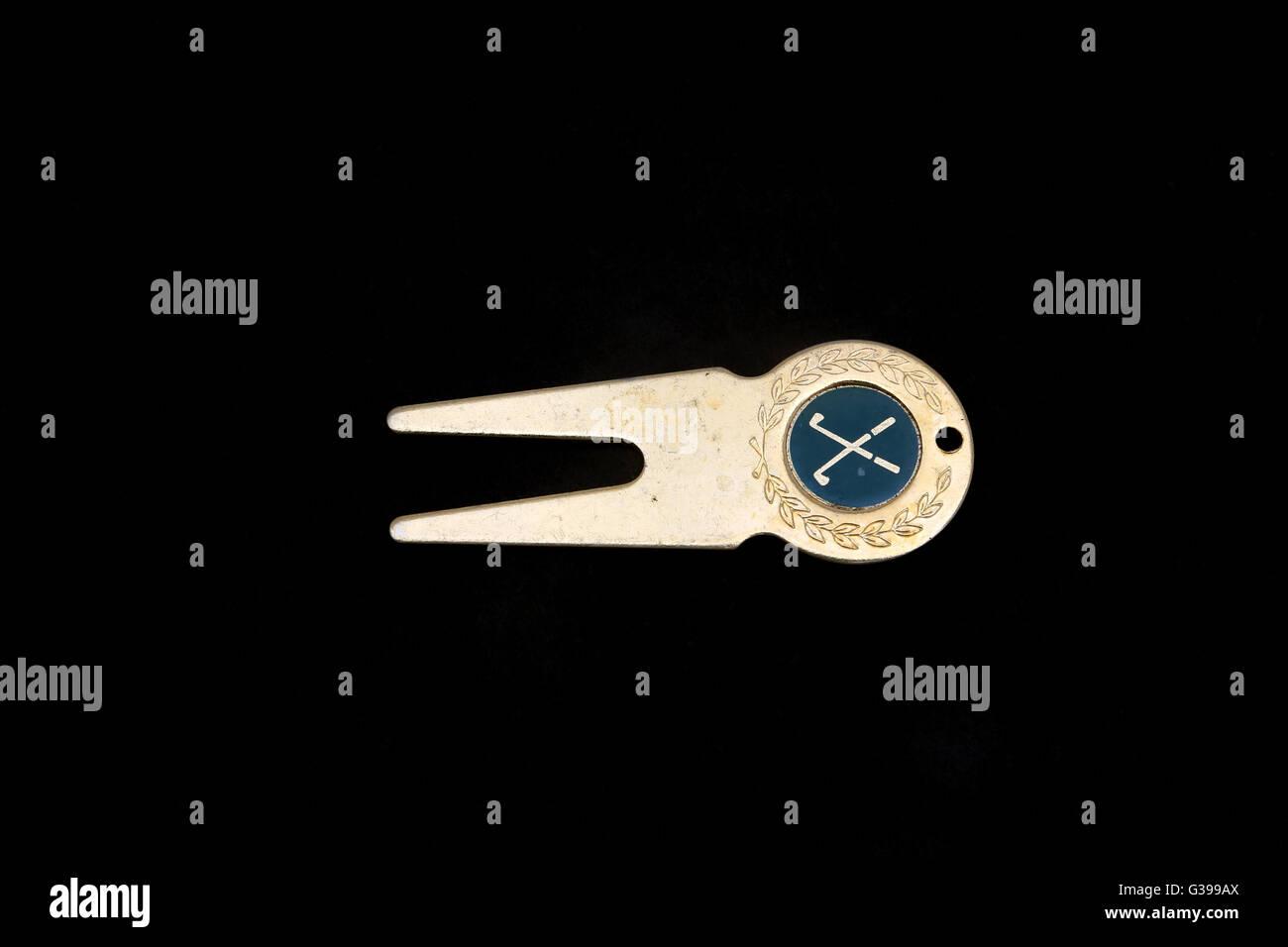 Golf Divot Tool - Stock Image