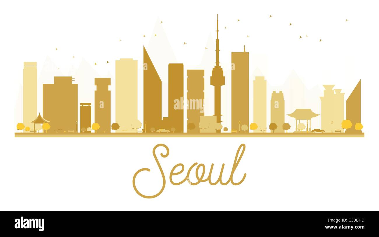 Seoul City Stock Vector Images - Alamy