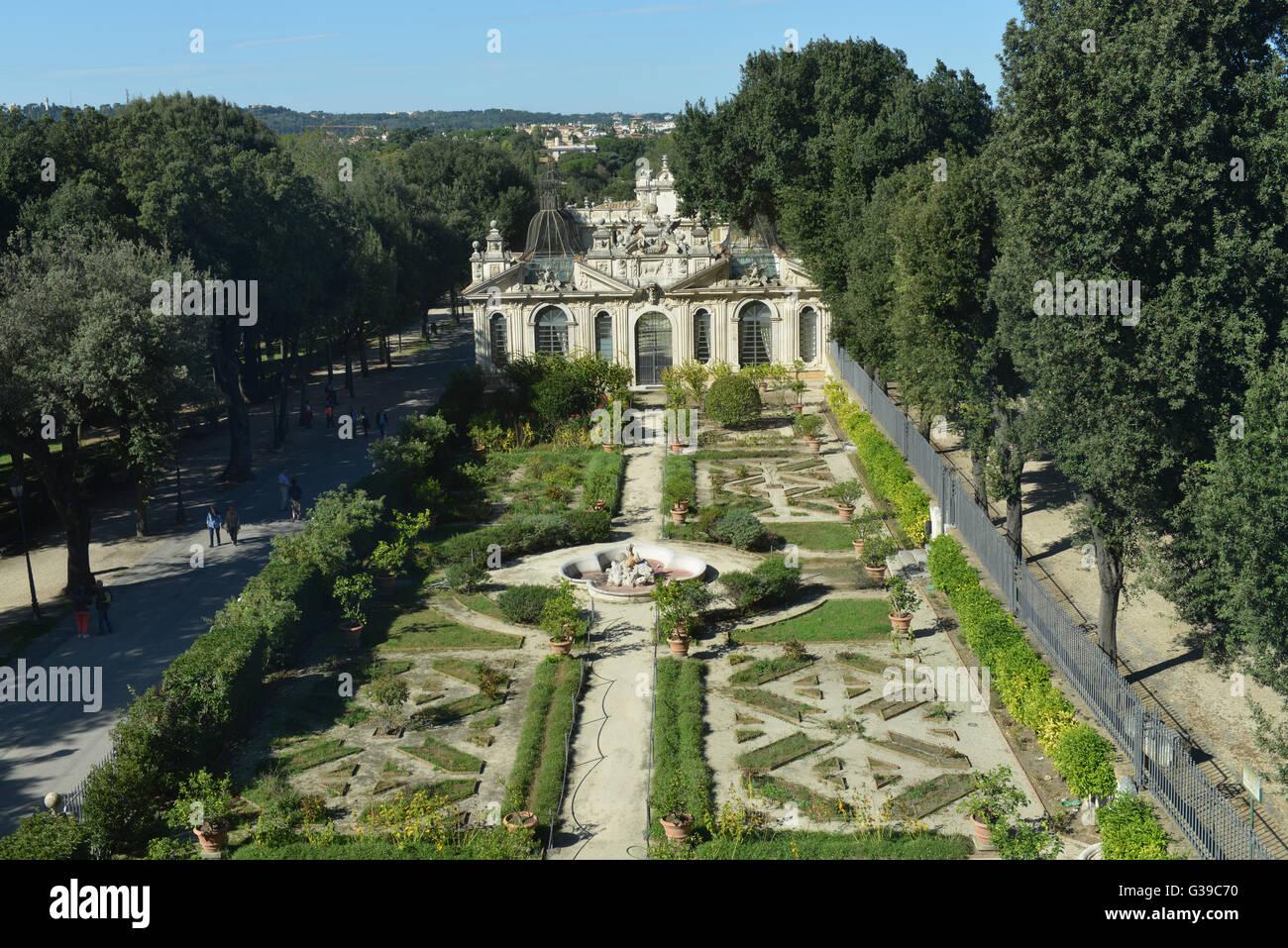 Garten giardini segreti villa borghese rom italien for Giardini per ville private