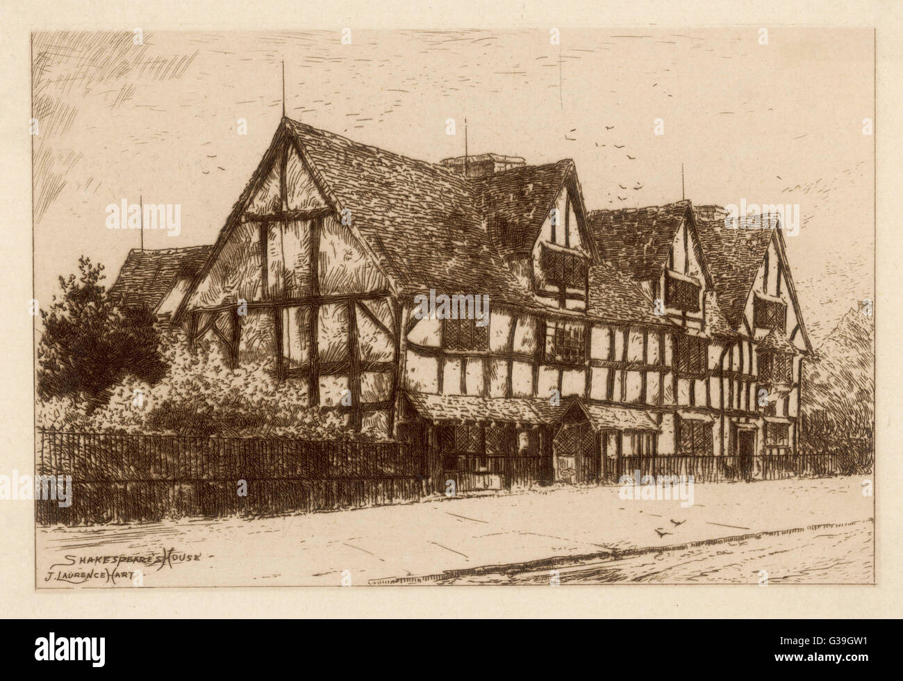 WILLIAM SHAKESPEARE His Stratford-upon-Avon birthplace Date: 1564 - 1616