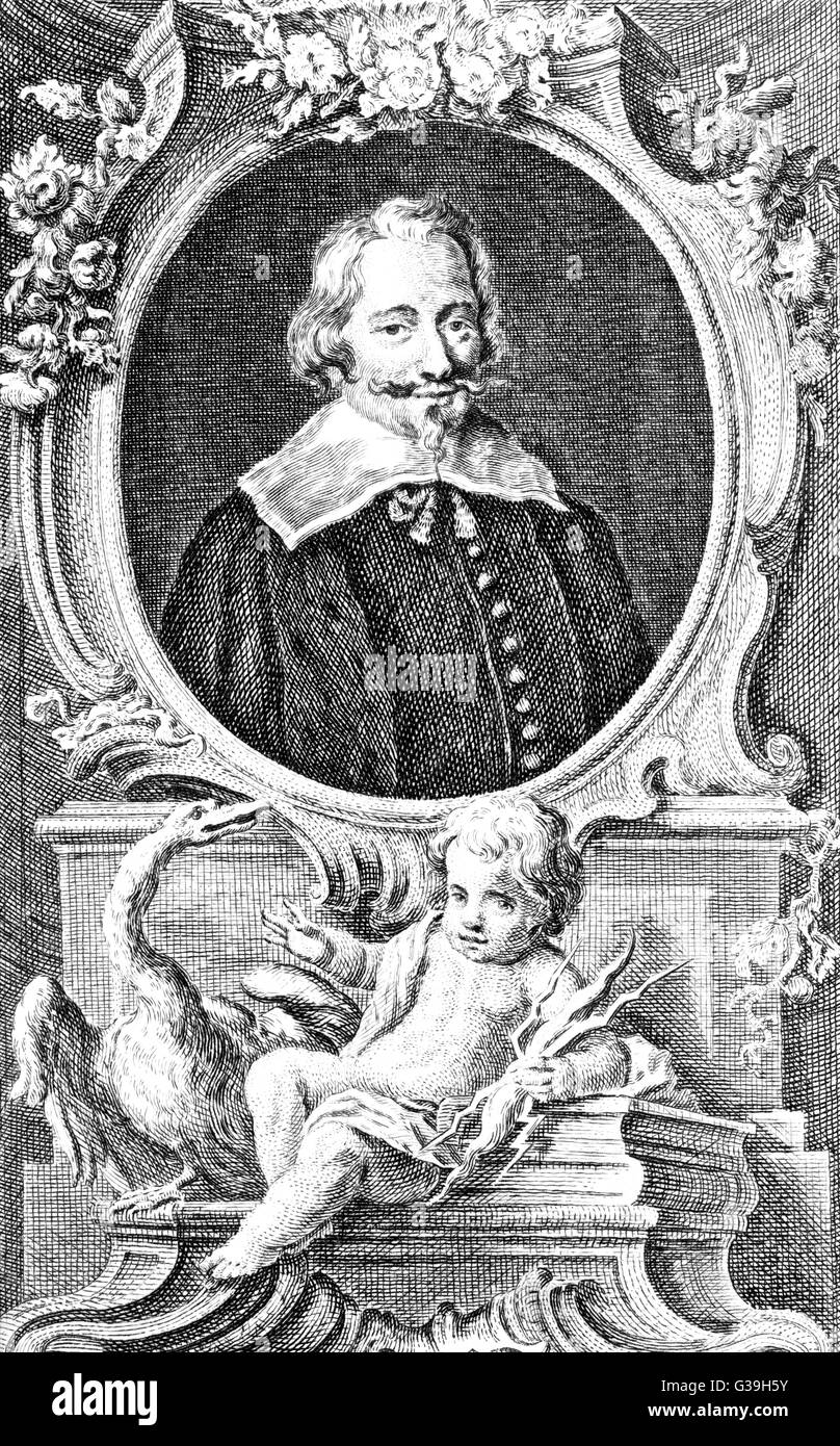 JOHN PYM  English politician, a Member  of Parliament from 1621 to his  death in 1643      Date: 1584 - 1643 - Stock Image