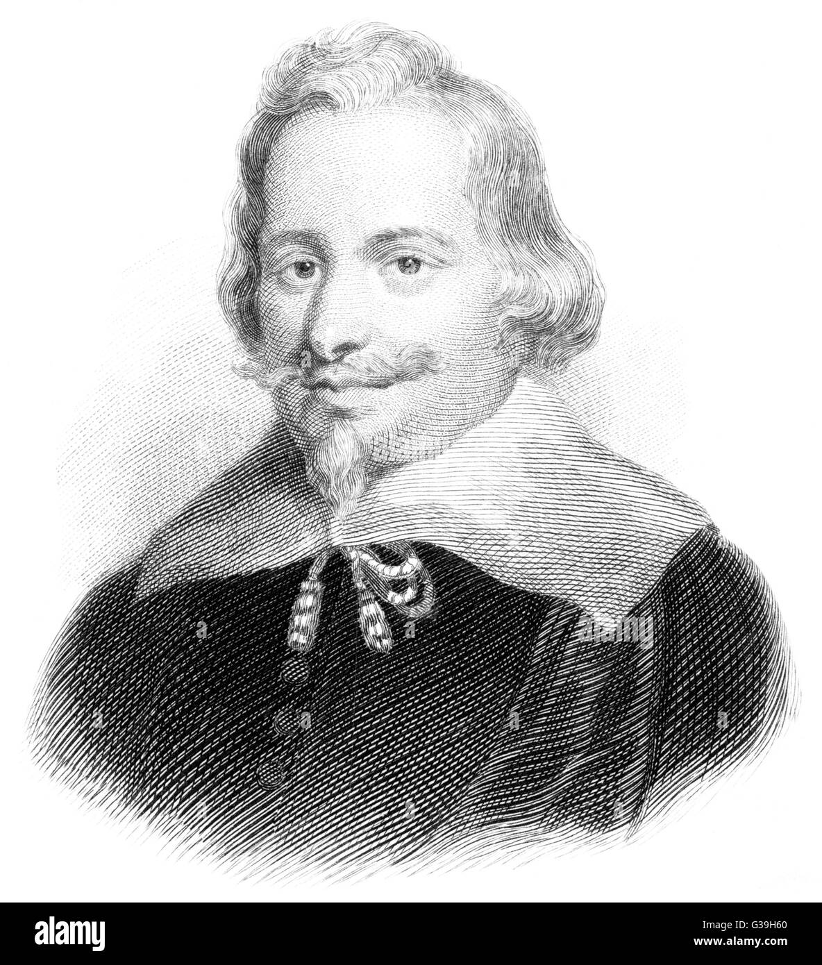 JOHN PYM  English M.P. who took a  leading role in the  Parliamentary oppposition to  King Charles I     Date: 1584 - Stock Image