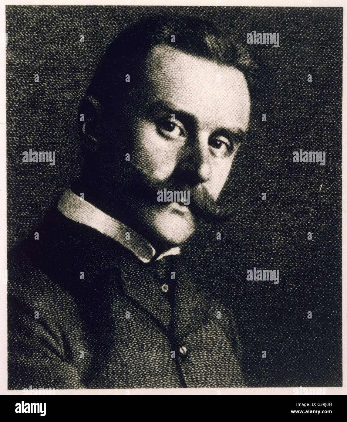 THOMAS MANN  German novelist        Date: 1875 - 1955 - Stock Image